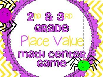 2nd & 3rd Grade Math Place Value Center Game