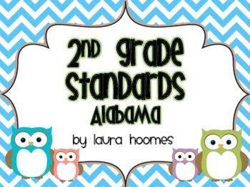 2nd Grade ALABAMA Owl Standards