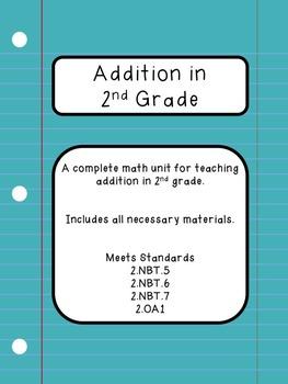 2nd Grade Addition Unit