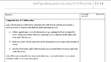 2nd Grade CCSS Common Core Student Portfolio Pages