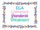 2nd Grade CCSS ELA Vocabulary Cards Set 1