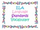 2nd Grade CCSS ELA Vocabulary Cards Set 2