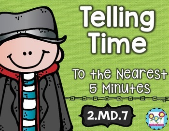 Telling Time Math Tasks and Exit Tickets