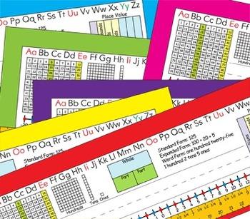 2nd Grade Common Core Desk Plates: 6 Colors