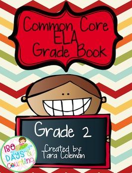 2nd Grade Common Core ELA Grade Book