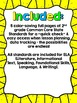 "2nd Grade Common Core ELA ""I Can"" Checklist (Ink Saver)"