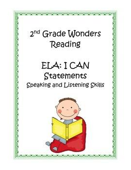 2nd Grade Common Core ELA: Speaking and Listening Skills I