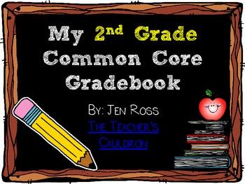 2nd Grade Common Core Gradebook