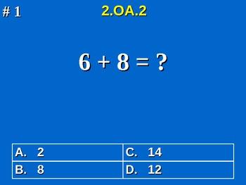 2nd Grade Common Core Math 2 OA.2 Fluently Add & Subtract