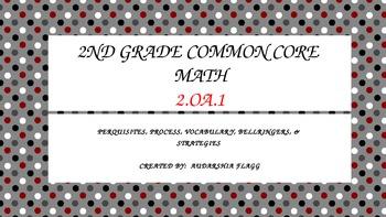 2nd Grade Common Core Math 2.OA.1