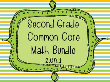 2nd Grade Common Core Math Bundle - Operations and Algebra