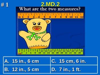 2nd Grade Common Core Math Comprehensive Practice #4 All 2