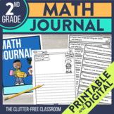 2nd Grade Math Journal Prompts | Math Journals | 2nd Grade