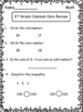 2nd Grade Common Core Math Review Practice Printables