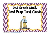 2nd Grade Common Core Math Test Prep Task Cards