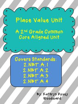 2nd Grade Common Core Place Value Unit