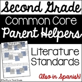2nd Grade Common Core Reading Literature Parent Helper