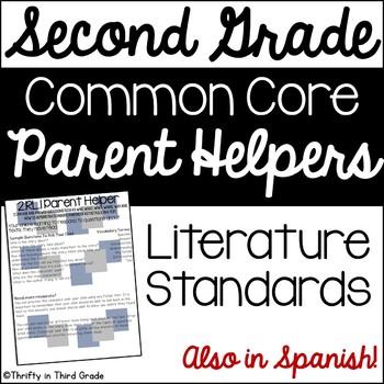 2nd Grade Common Core Reading Literature Parent Helper -al