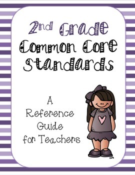 2nd Grade Common Core Standards Reference Guide