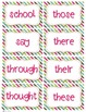 2nd Grade Complete  Word Wall Set