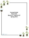 2nd Grade Cross Curricular Plant Unit