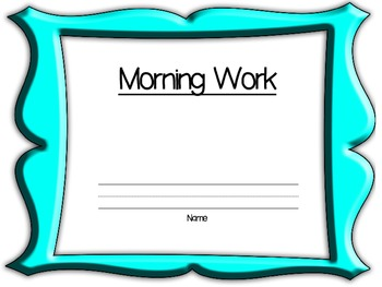 2nd Grade Daily Workbook- 1st Quarter