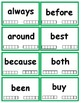 2nd Grade Dolch Sight Word Flash Cards with Data Tracking