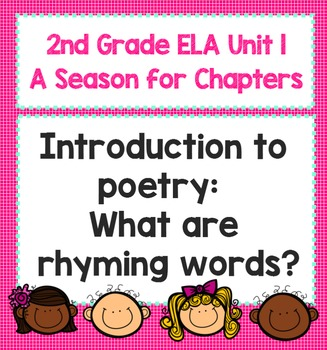 """2nd Grade ELA Smart Board """"A Season for Chapters"""" Poetry L"""
