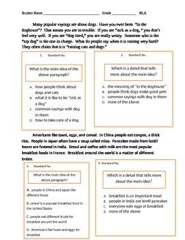 2nd Grade ELA Assessment