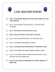 2nd Grade ELA CCSS I Can Statements- Owl Theme