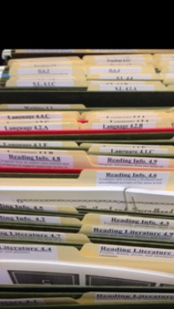 Common Core Labels 2nd Grade ELA and MATH