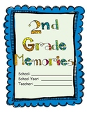 2nd Grade - End of the Year Memory Book