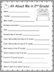 2nd Grade End of the Year Packet