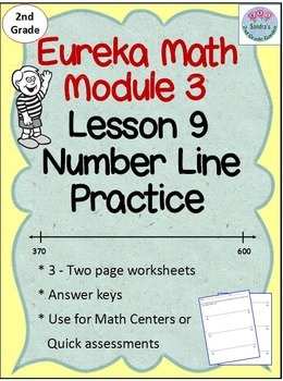 2nd Grade Eureka Math Module 3 Lesson 9 Counting on an Emp