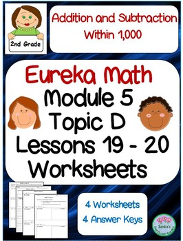 2nd Grade Eureka Math Module 5 Topic D Lessons 19 and 20 W