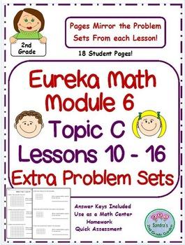 2nd Grade Eureka Math Module 6 Topic C Lessons 10 - 16 Ext