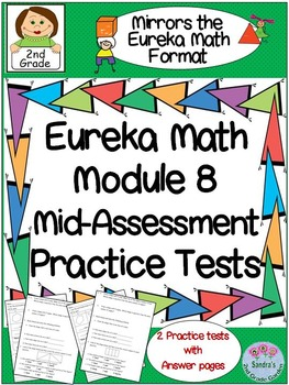 2nd Grade Eureka math Module 8 Mid-Assessment Practice Tests