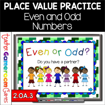 2nd Grade Even or Odd Powerpoint Game - 2.OA.3