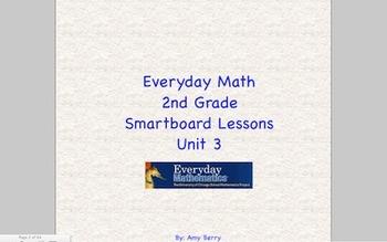 Everyday Math 2nd Grade SmartBoard Lessons Unit 3