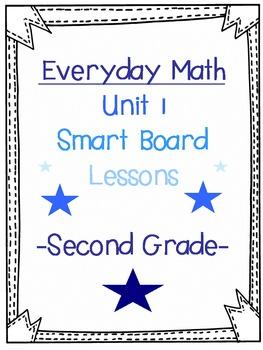 2nd Grade Everyday Math SmartBoard lesson (1.11)