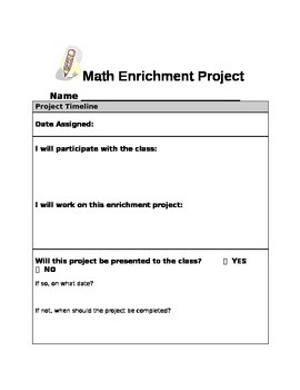 2nd Grade Everyday Math Unit 10 Enrichment Activity