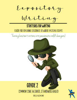 Informational Expository Writing 2nd Grade Common Core Wri