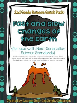 2nd Grade Fast and Slow Changes {Quick Pack: Next Generati