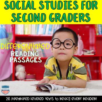 Second Grade Georgia Social Studies Differentiated Reading