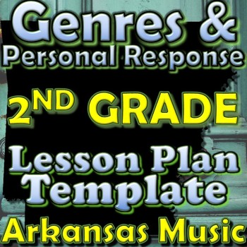 2nd Gr Unit Plan Template - Genres/Personal Response - Ark