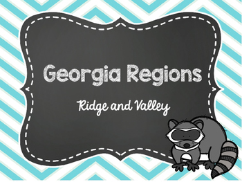 2nd Grade Georgia Region: Ridge and Valley Power Point