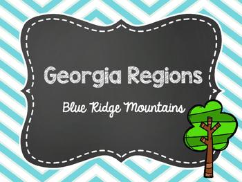2nd Grade Georgia Regions: Blue Ridge Mountains Power Poin