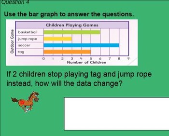 2nd Grade Go Math Chapter 10 Review Game - Data