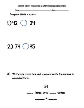 2nd Grade Go Math Chapter 2 Quick Quizzes