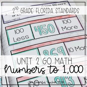 2nd Grade Go Math! Interactive Notebook: Chapter 2 ~ Flori